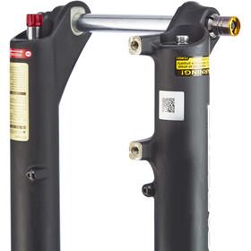 """SR Suntour XCR34 Coil Boost RLR Fourche suspendue 27,5""""/29"""" 120 mm commande à distance pour cintre incluse"""